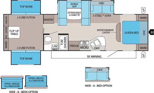 jay flight floorplans