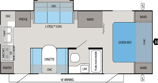 jay feather ultra lite floorplans