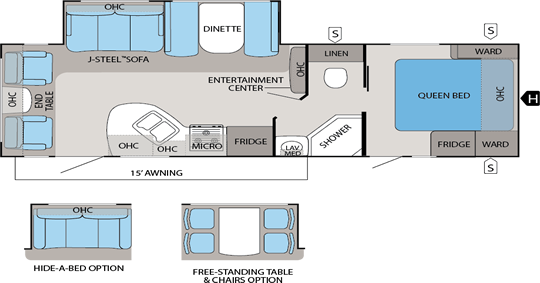 White Hawk Floorplans
