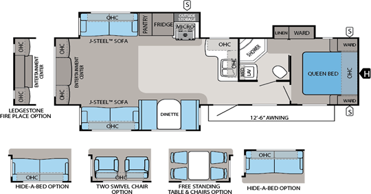Eagle Floorplans