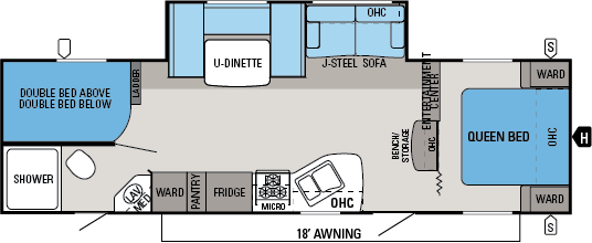 jay flight swift floorplans