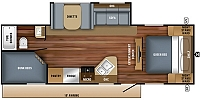 2018 JAYCO JAY FEATHER 25BH