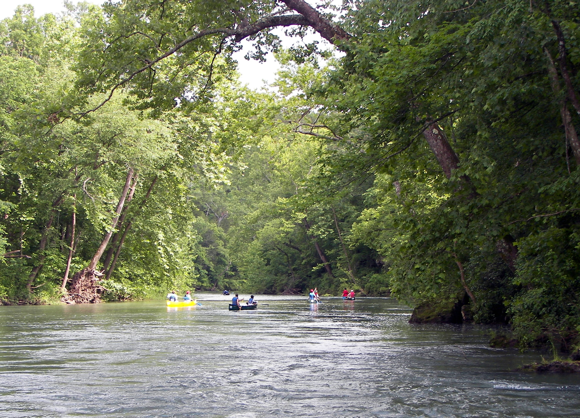 Float Trips in Missouri
