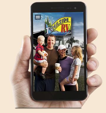 Download the New Trailside RV App