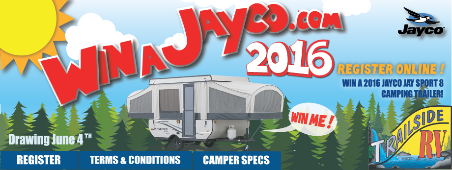 Win A Jayco 2016 from Trailside RV