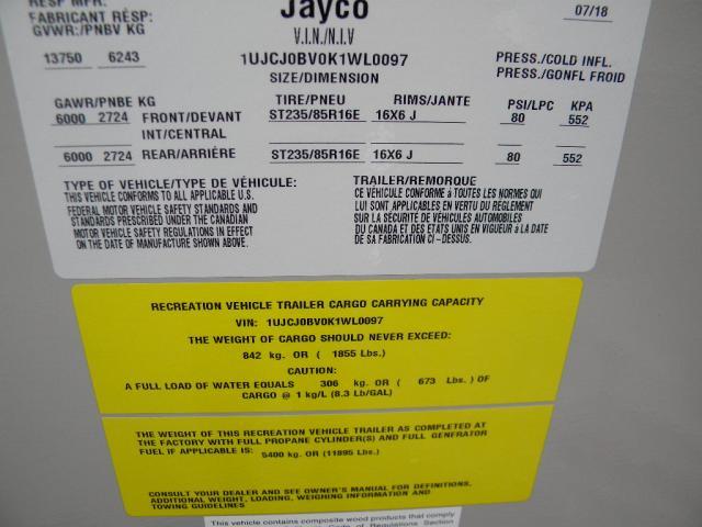 2019 JAYCO EAGLE WL 336 FBOK